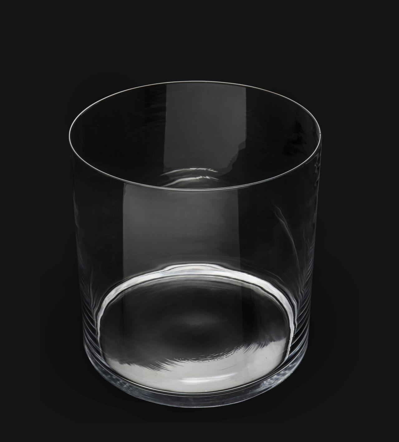 AQUAEL AquaDecoris Cylindrique 30 x 30 x 30 cm 21L nano-aquarium pour crevettes, Betta et petits poissons