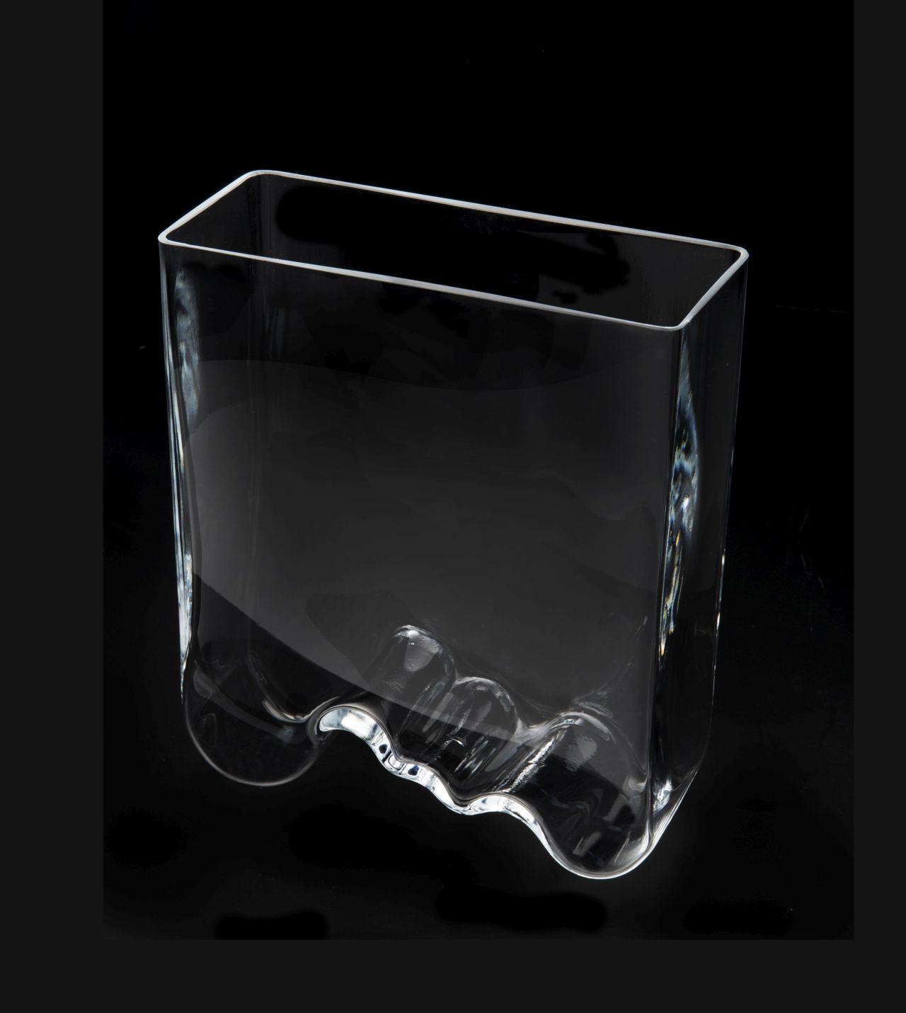 AQUAEL AquaDecoris Vague 20 x 8 x 25 cm 3,5L nano-aquarium pour crevettes, Betta et petits poissons