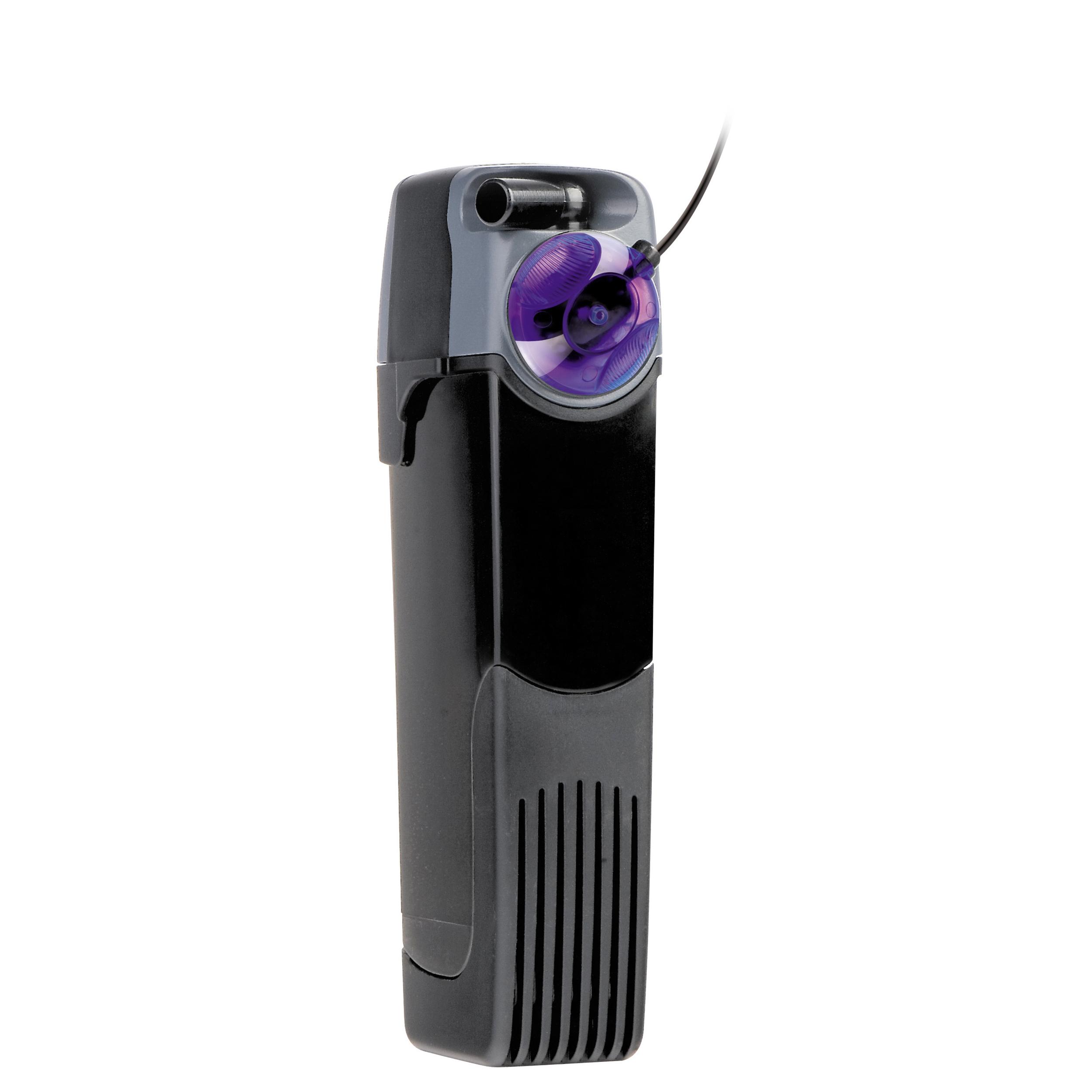 AQUAEL Unifilter UV-C 500 filtre interne avec stérilisateur UV-C leds intégré pour aquarium de 100 à 200L