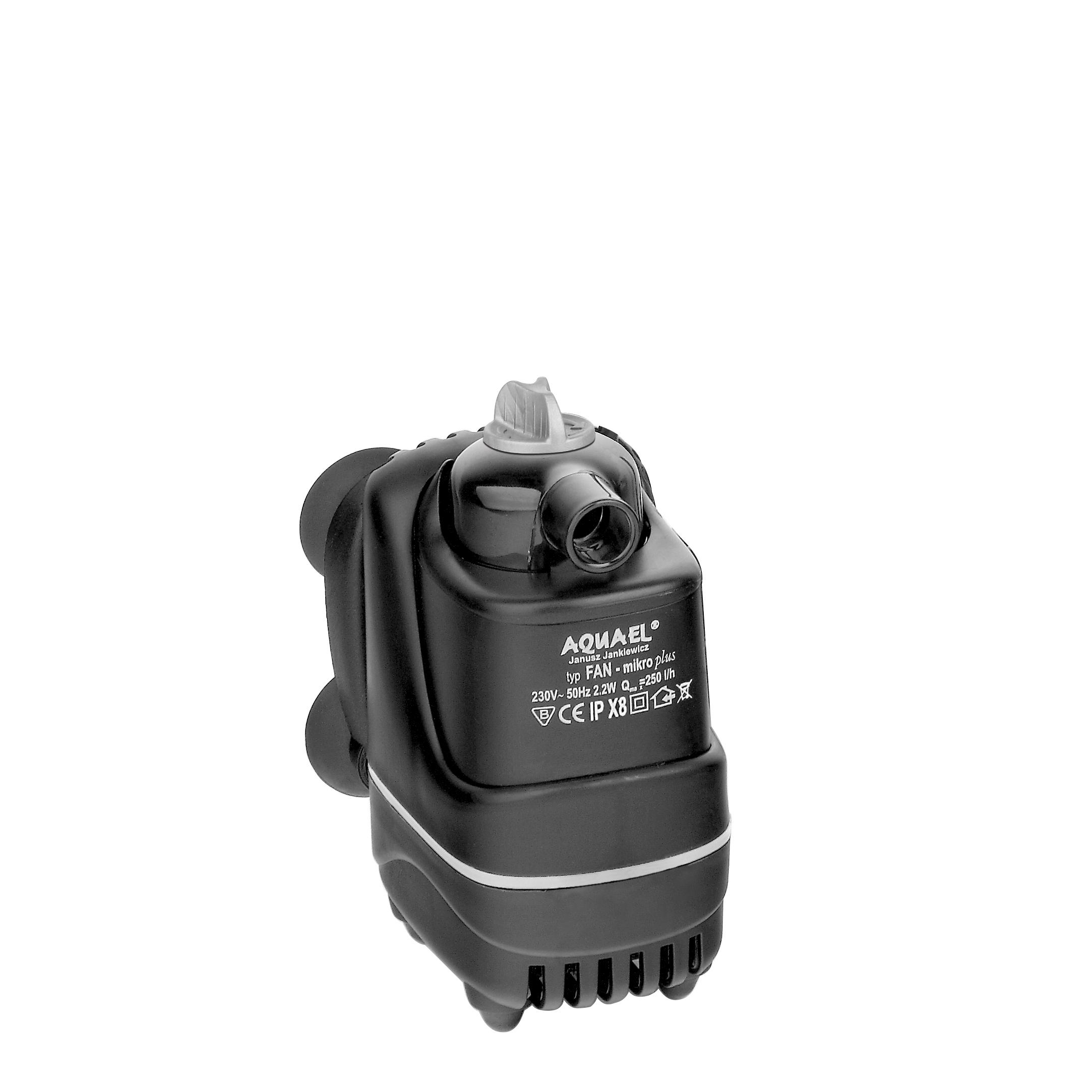 AQUAEL Mikro Plus 250 L/h filtre interne pour aquarium ou aquaterrarium de jusqu\'à 30L