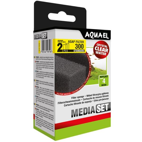 AQUAEL Cartouche Standard pour filtre ASAP 300 mousse de remplacement