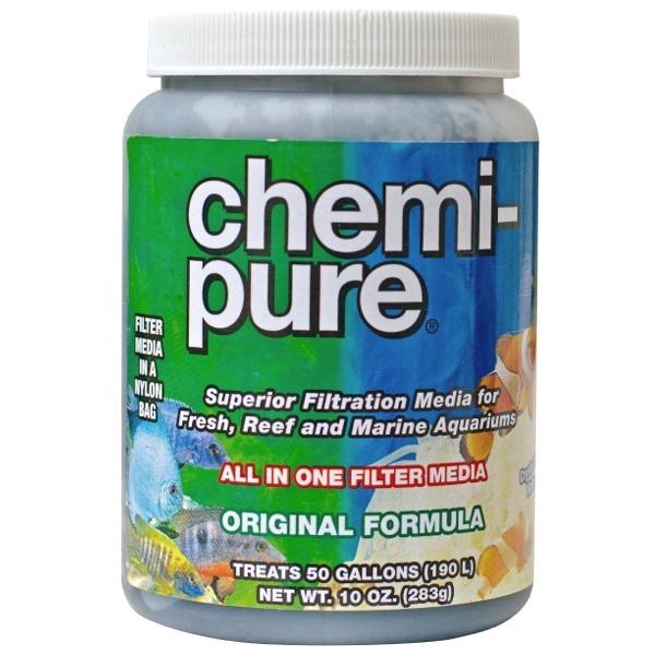 BOYD Chemi Pure 283 gr masse filtrante stabilise le pH, clarifie l\'eau, réduit les algues et apporte de nombreux autres avantages en eau douce et eau de mer
