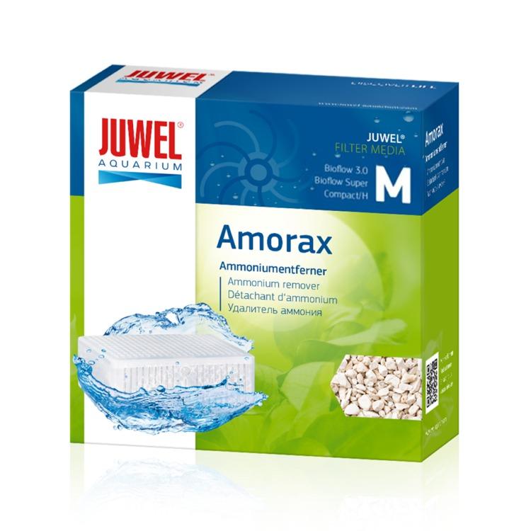 JUWEL Amorax M masse filtrante Anti-Ammoniaque à base de Zéolithe pour filtre Juwel Bioflow 3.0 et Compact. Dimensions 9,9 x 9,9 x 4,8 cm