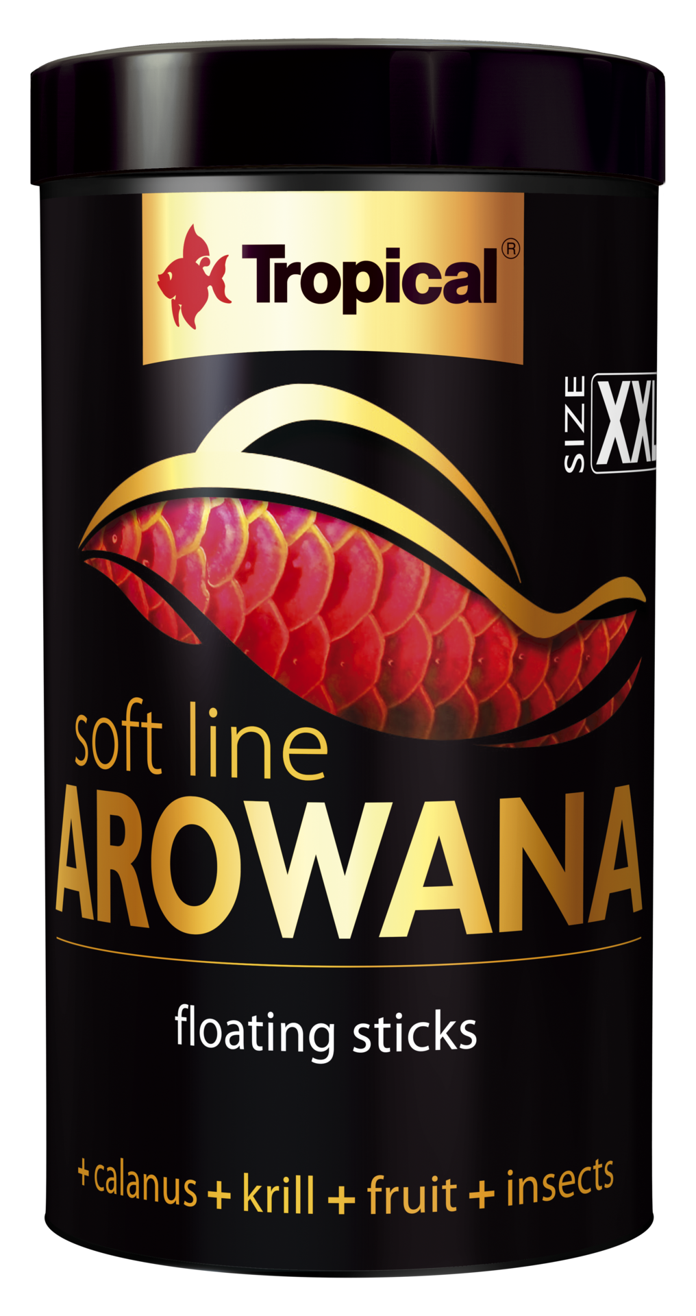 TROPICAL Soft Line Arowana XXL 1000 ml nourriture Premium en sticks pour poissons Arowana de plus de 20 cm