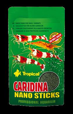 TROPICAL Cardina Nano 10 gr nourriture Premium en sticks pour crevettes