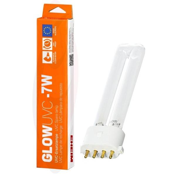 EHEIM GlowUVC-7 ampoule UV-C 7W culot 2G7 pour stérilisateurs Eheim ClearUVC-7