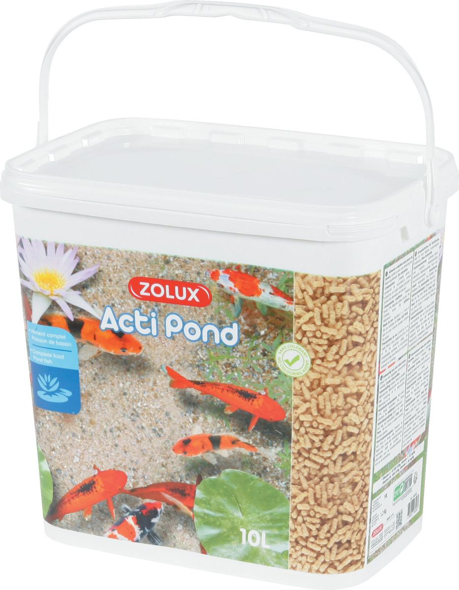 ZOLUX Acti Pond Stick Standard 10L aliment en sticks complet et équilibré pour tous poissons de bassin