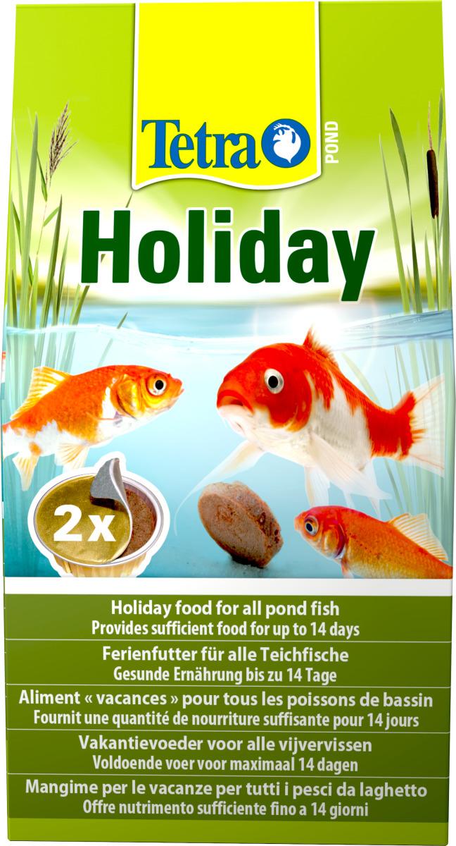 TETRA Pond Holiday bloc gélifié spécialement conçu pour nourrir les poissons de bassin jusqu´à 14 jours