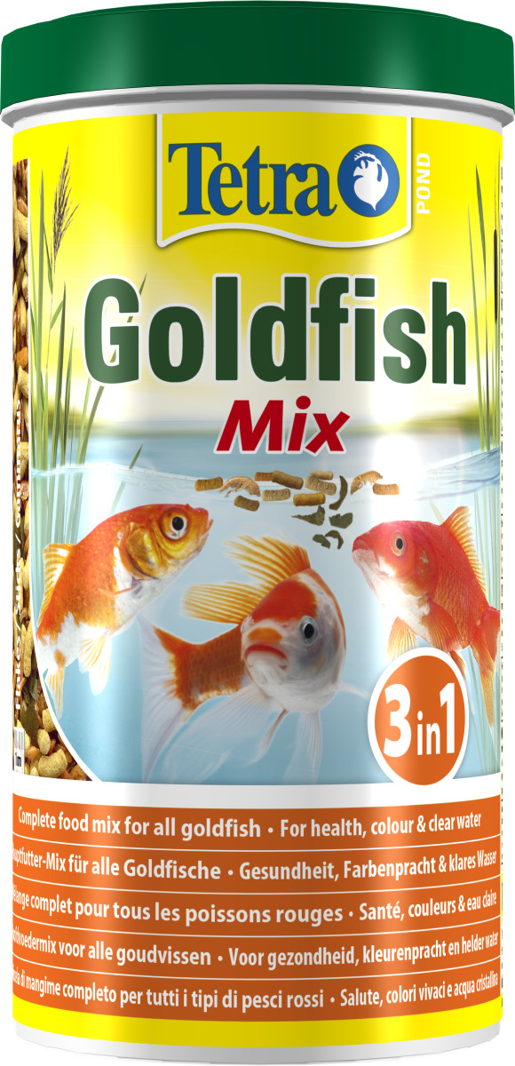 TETRA Pond GoldFish Mix 1L mélange alimentaire idéalement équilibré pour poissons rouges de bassin