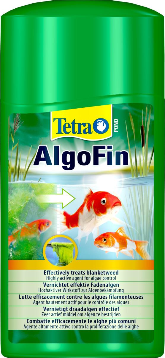 TETRA Pond AlgoFin 1L détruit les algues filamenteuses et autres algues courantes en bassin. Traite jusqu\'à 20000 L