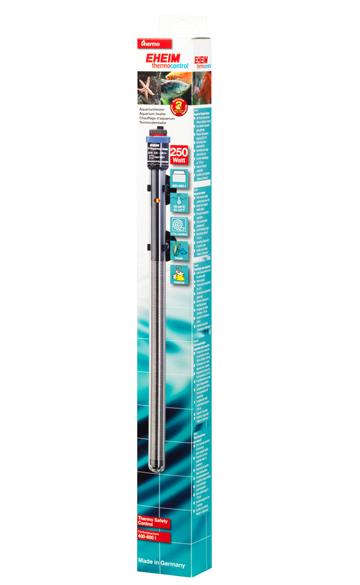 EHEIM JÄGER 250W chauffage pour aquarium d\'eau douce et d\'eau de mer entre 400 et 600L