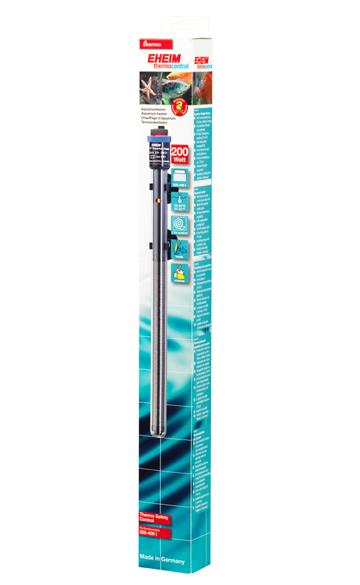 EHEIM JÄGER 200W chauffage pour aquarium d\'eau douce et d\'eau de mer entre 300 et 400L