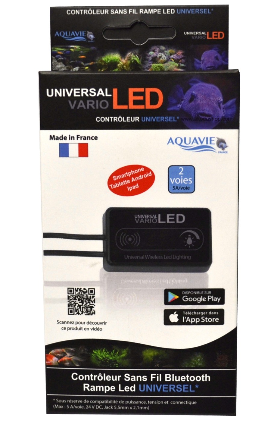 aquavie-vario-led-controleur-universel-bluetooth-pour-rampe-leds-aquarium-12v-24v-akouashop