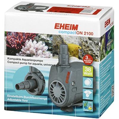 EHEIM compactON 2100 pompe universelle débit 1400 à 2100 L/h pour aquarium