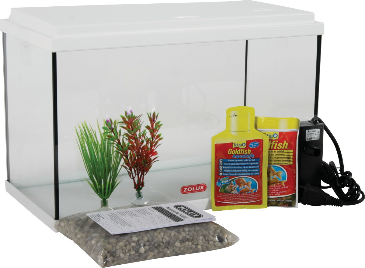 ZOLUX Nanolife Kidz 40 Blanc Kit nano-aquarium équipé 18L longueur 40 cm