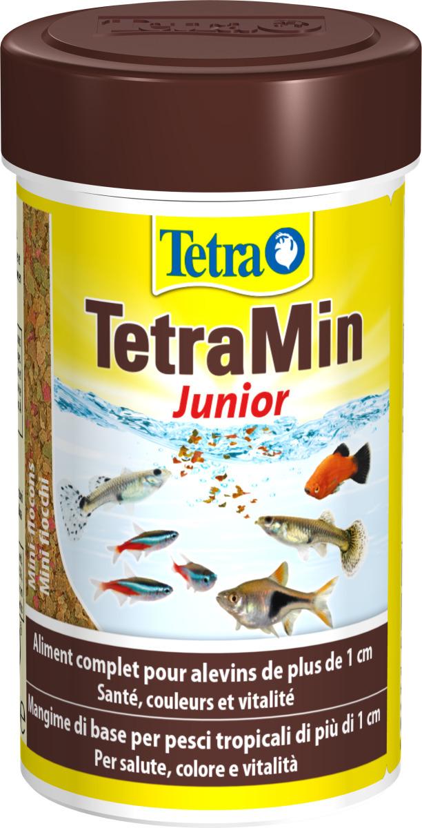TETRA TetraMin Junior 100 ml aliment complet pour alevins à partir d\'1 cm