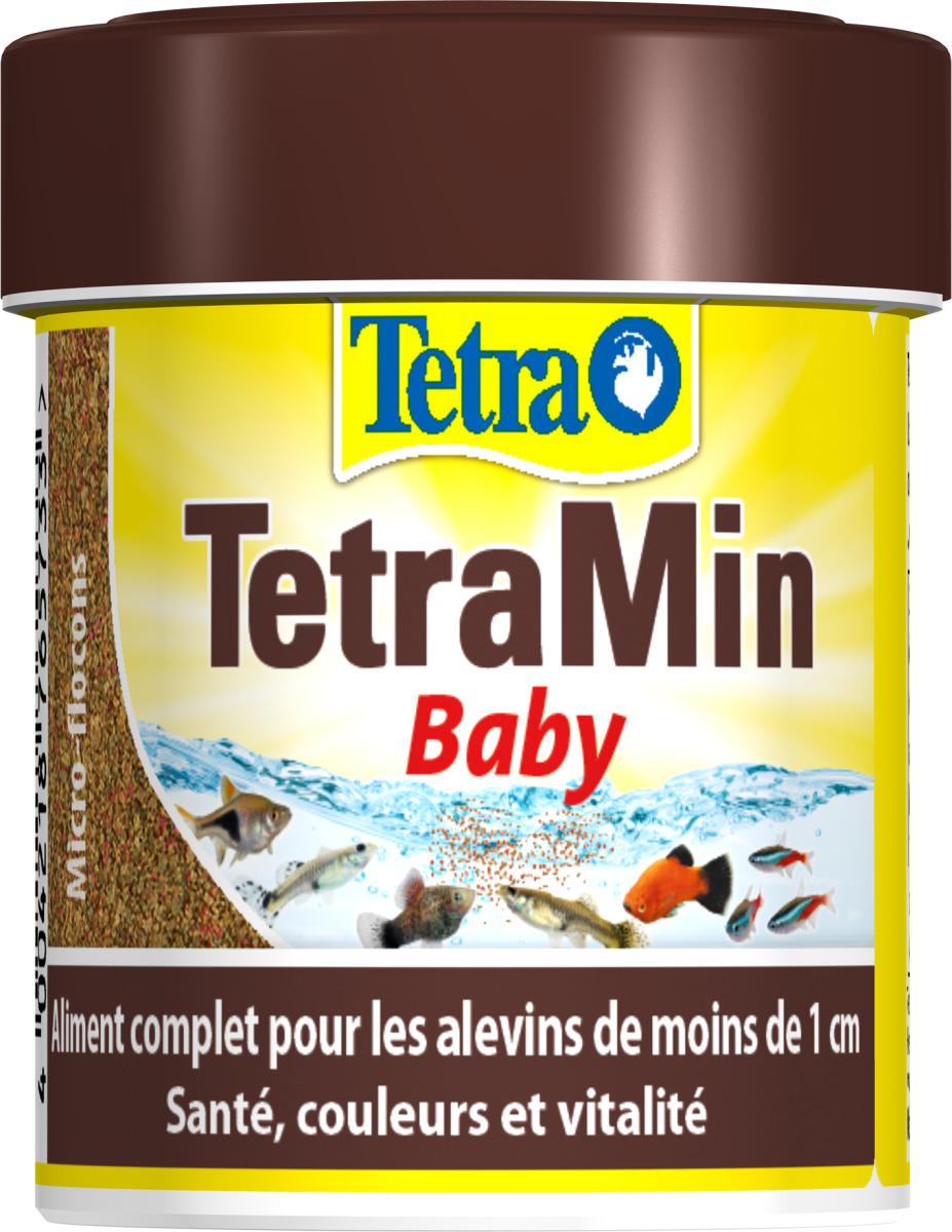 TETRA TetraMin Baby 66 ml aliment complet en poudre, pour les alevins de moins d\'1 cm