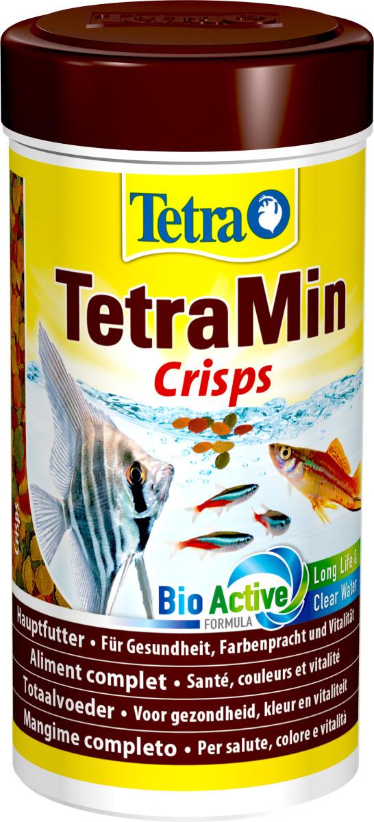 TETRA TetraMin Pro Crisps 250 ml aliment complet en chips pour tous les poissons tropicaux.