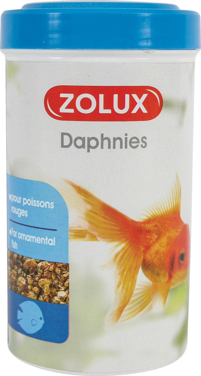 ZOLUX Daphnies 250 ml nourriture 100% Daphnia pour tous poissons d\'eau douce douce