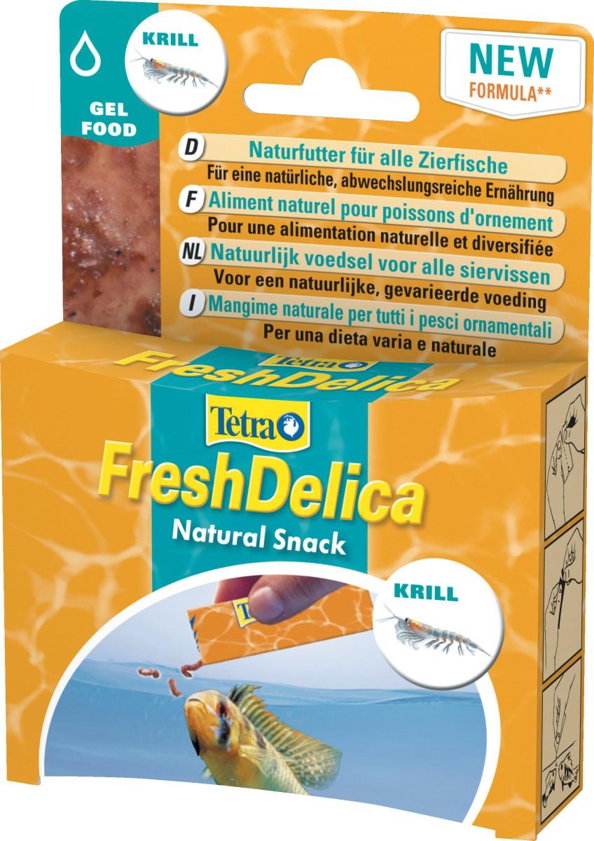 TETRA FeshDelica Krill 48 gr nourriture à base de Krill sous forme de gelée pour tous poissons