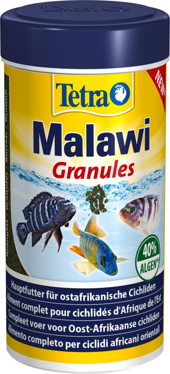TETRA Malawi Granules 250 ml nourriture riche en algues pour Cichlidés herbivores