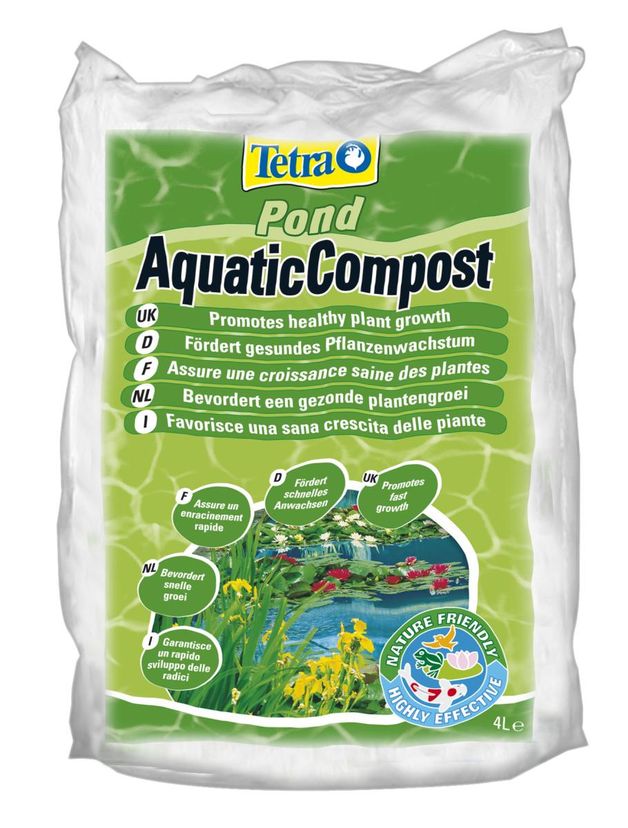 TETRA Pond Aquatic Compost 4 L terreau spéciale pour plantes de bassin