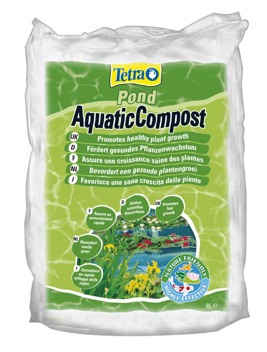 TETRA Pond Aquatic Compost 8 L terreau spéciale pour plantes de bassin