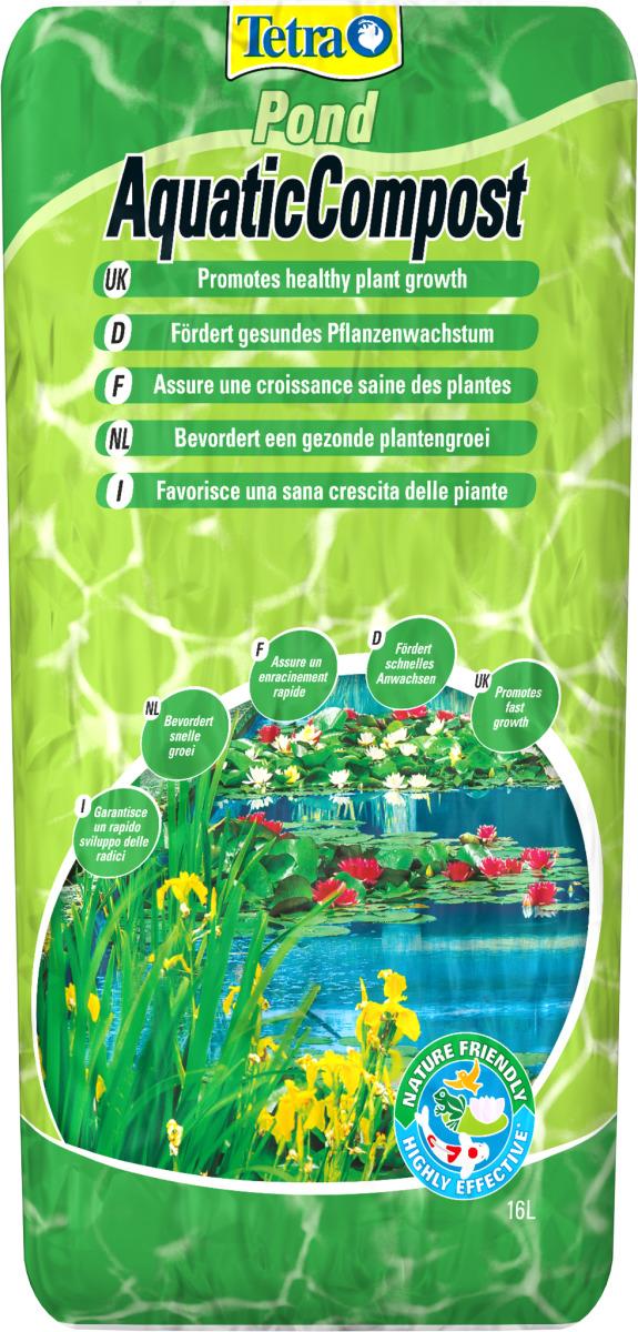 TETRA Pond Aquatic Compost 16 L terreau spéciale pour plantes de bassin
