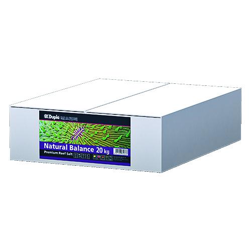 DUPLA Premium Reef Salt Natural Balance 20 Kg carton de sel synthétique pour aquarium récifal