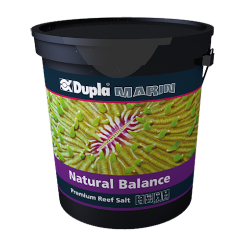 DUPLA Premium Reef Salt Natural Balance 20 Kg seau de sel synthétique pour aquarium récifal