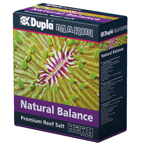 DUPLA Premium Reef Salt Natural Balance 3 Kg sel synthétique pour aquarium récifal