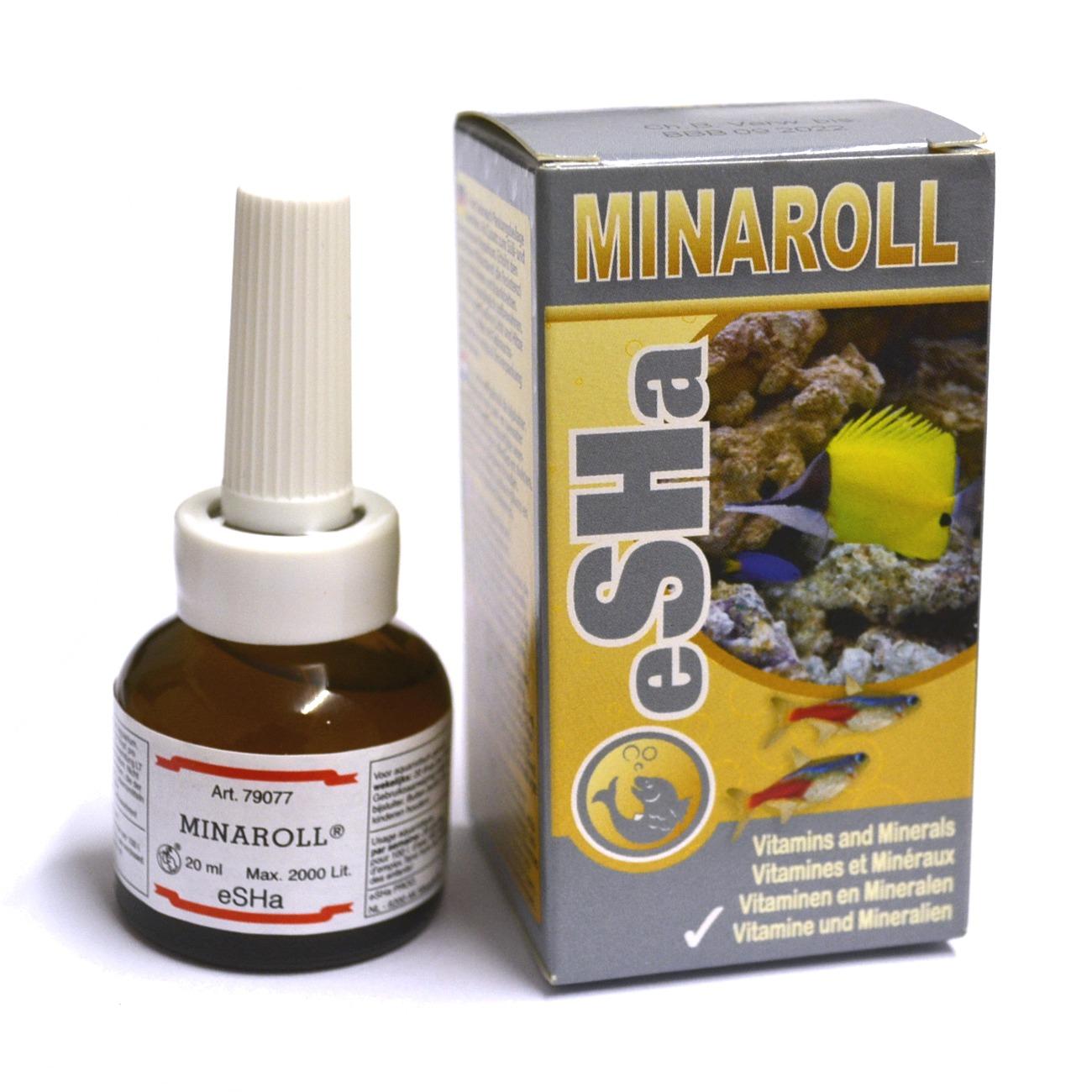 ESHA Minaroll vitamines, minéraux et oligo-éléments pour poissons d\'eau douce et d\'eau de mer