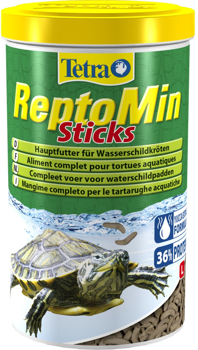 TETRA ReptoMin Sticks 1 L nourriture principale de qualité pour tortues d\'eau