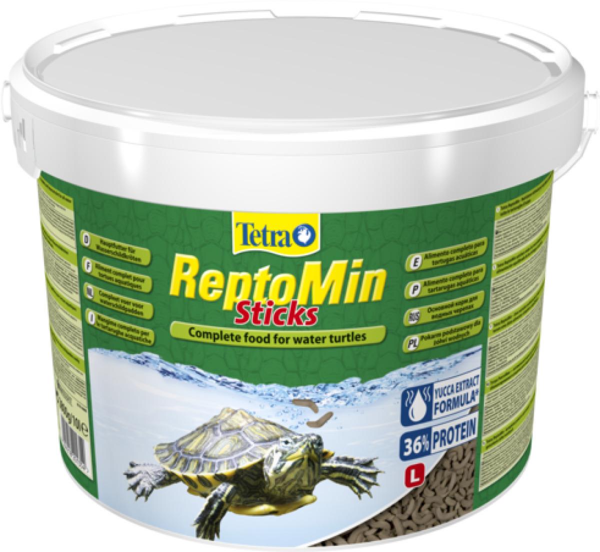 TETRA ReptoMin Sticks 10 L nourriture principale de qualité pour tortues d\'eau