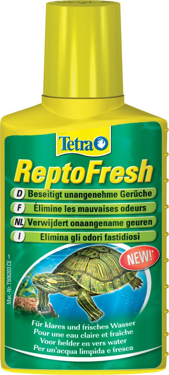 TETRA ReptoFresh 100 ml anti-odeurs et clarificateur d\'eau pour aquaterrarium