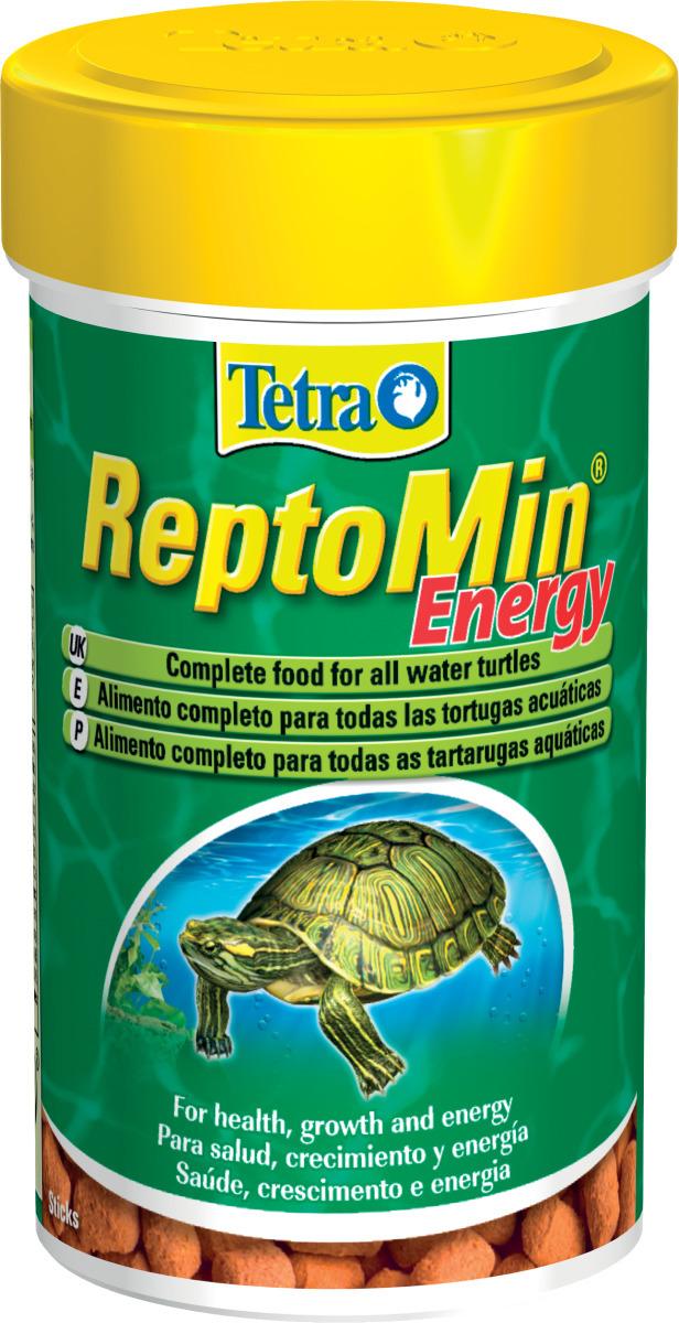 TETRA ReptoMin Energy 100 ml nourriture complète pour tortue d\'eau avec Krill, Crevettes et Oméga-3