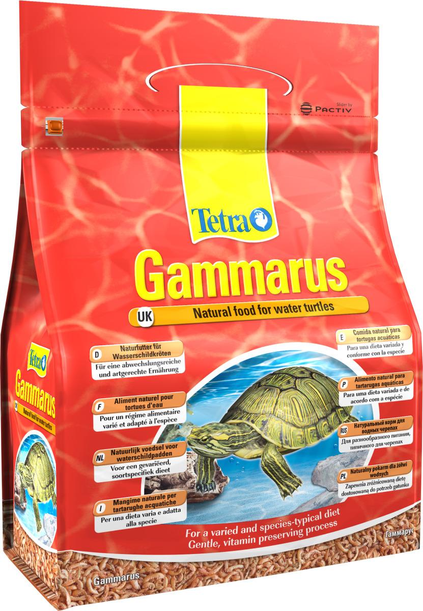 TETRA Gammarus 4 L nourriture à base de crevettes séchées pour Tortues d\'eau