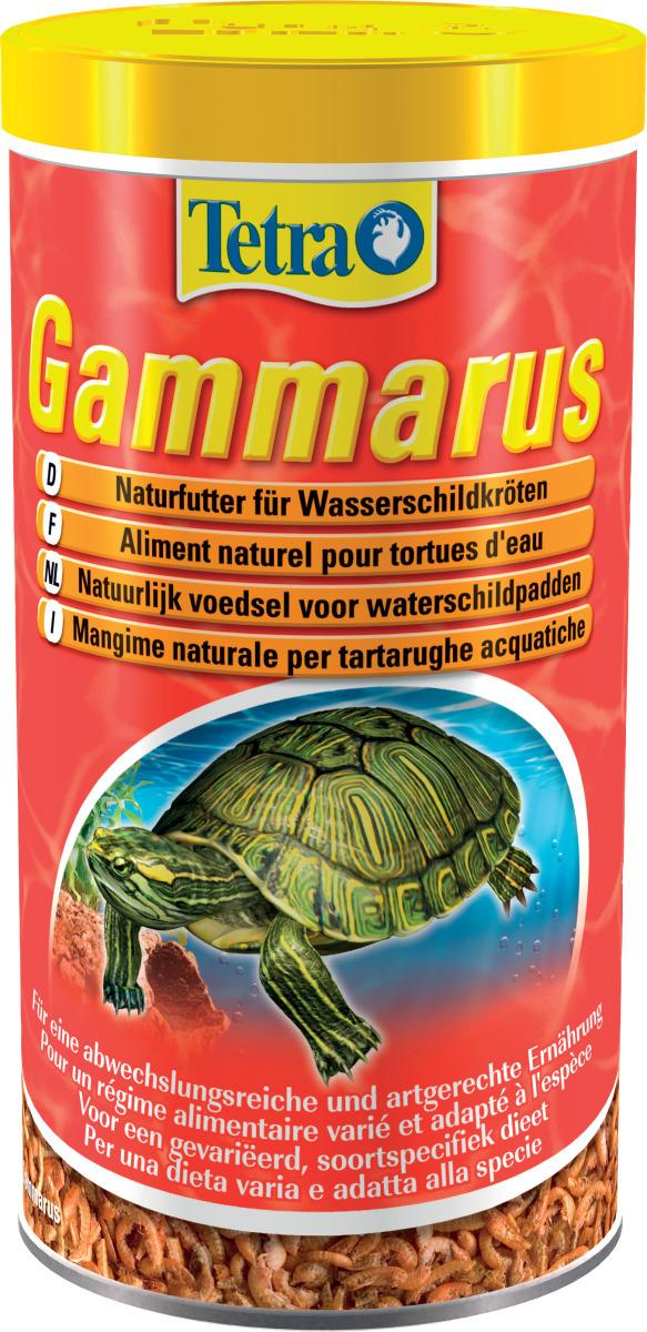 TETRA Gammarus 1 L nourriture à base de crevettes séchées pour Tortues d\'eau