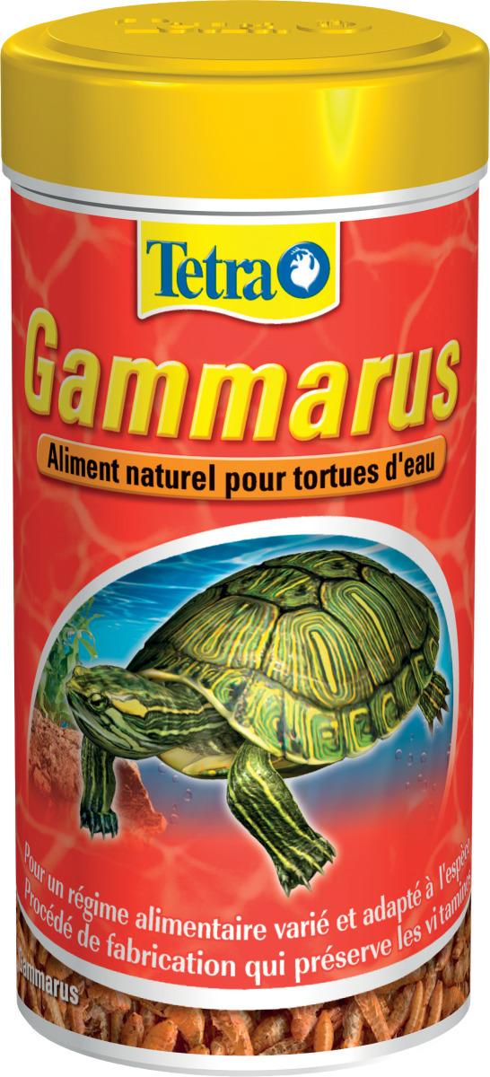 TETRA Gammarus 250 ml nourriture à base de crevettes séchées pour Tortues d\'eau