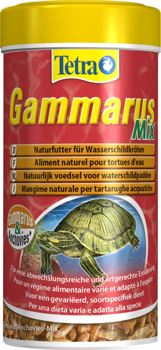 TETRA Gammarus Mix 250 ml nourriture à base de crevettes et d\'anchois sechées pour Tortues d\'eau