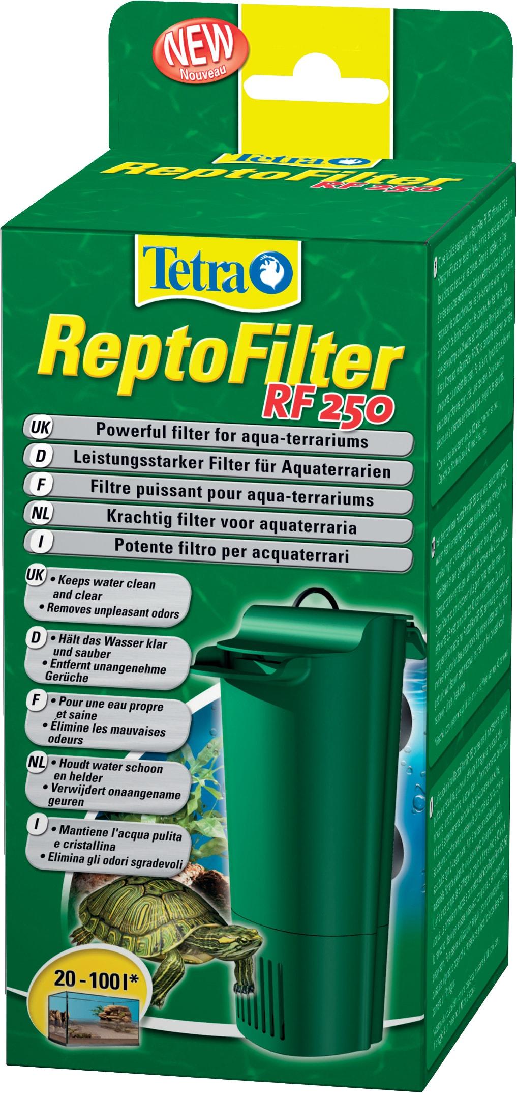 TETRA ReptoFilter RF 250 filtre complet pour aquaterrrium de 20 à 100 L