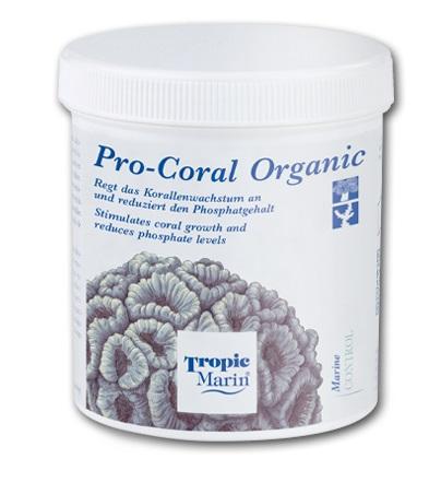 TROPIC MARIN Pro Coral Organic 200 gr stimule la croissance des coraux et lutte contre les phosphates