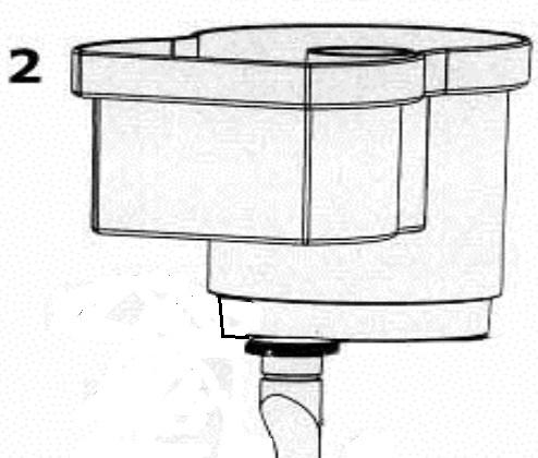 AQUA MEDIC Récipient d\'écume pour EVO 1000 (Réf : 410.010-10)