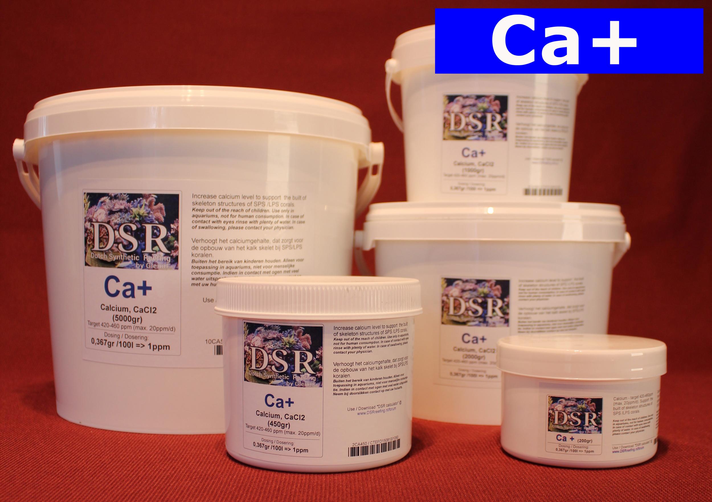 DSR Ca+ 1 Kg complément de Calcium en poudre pour aquarium récifal