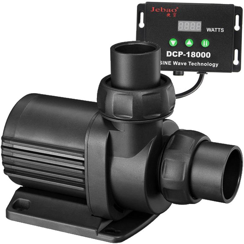 JEBAO JECOD DCP-18000 pompe universelle avec contrôleur pour débit réglable jusqu\'à 18000 L/h