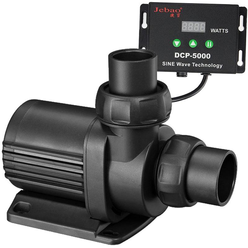 JEBAO JECOD DCP-5000 pompe universelle avec contrôleur pour débit réglable jusqu\'à 5000 L/h