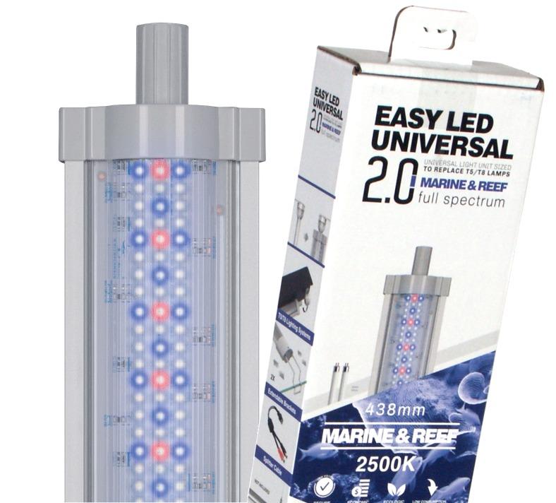AQUATLANTIS Easy Led 2.0 Marine & Reef rampe LEDS Eau de mer 25000°K. 7 longueurs au choix