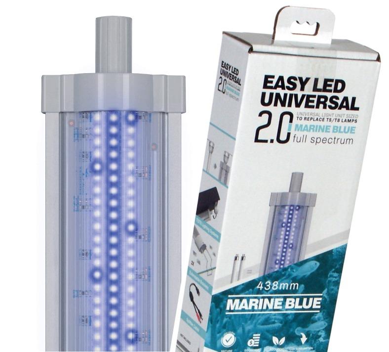 AQUATLANTIS Easy Led 2.0 Marine Blue rampe LEDS Eau de mer Bleu / Blanc. 7 longueurs au choix