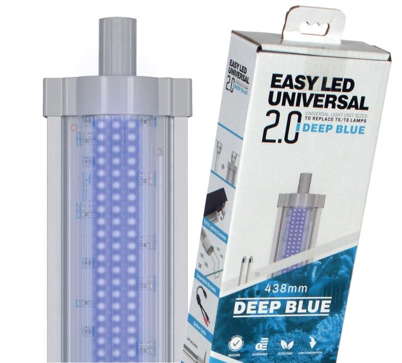 AQUATLANTIS Easy Led 2.0 Deep Blue rampe LEDS Eau de mer Actinique. 7 longueurs au choix