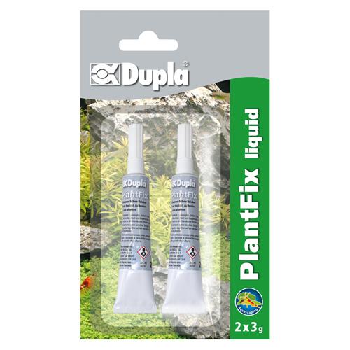 DUPLA Plant Fix Liquide 2 x 3 gr colle de fixation rapide pour plantes d\'aquarium